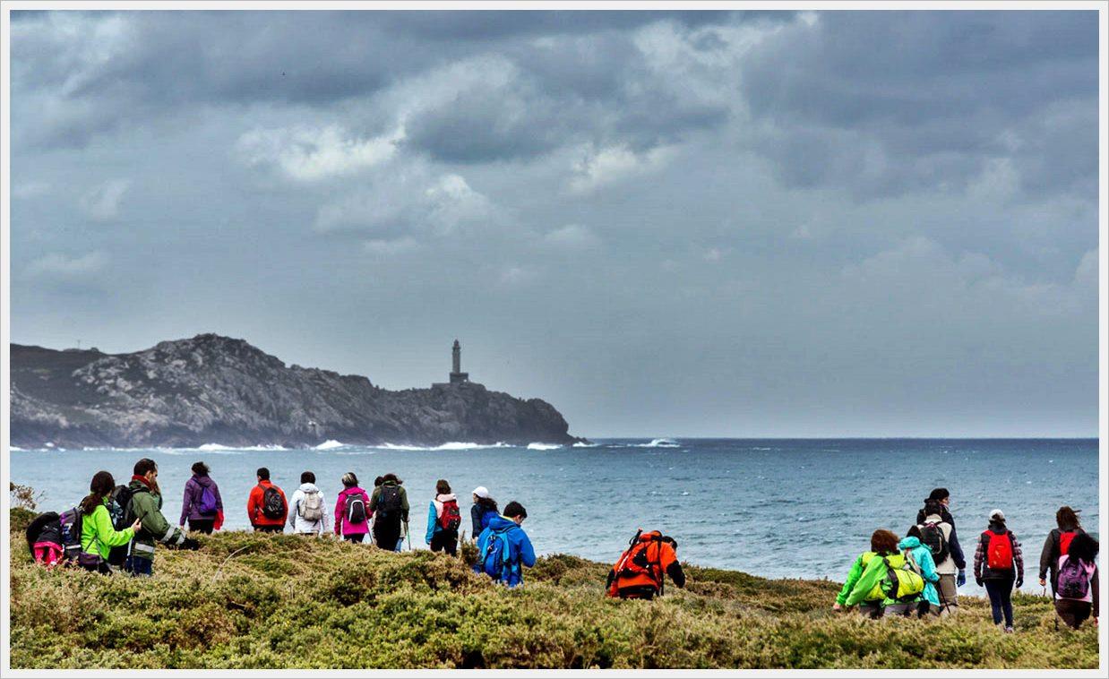 Vista del Faro de Cabo Villano