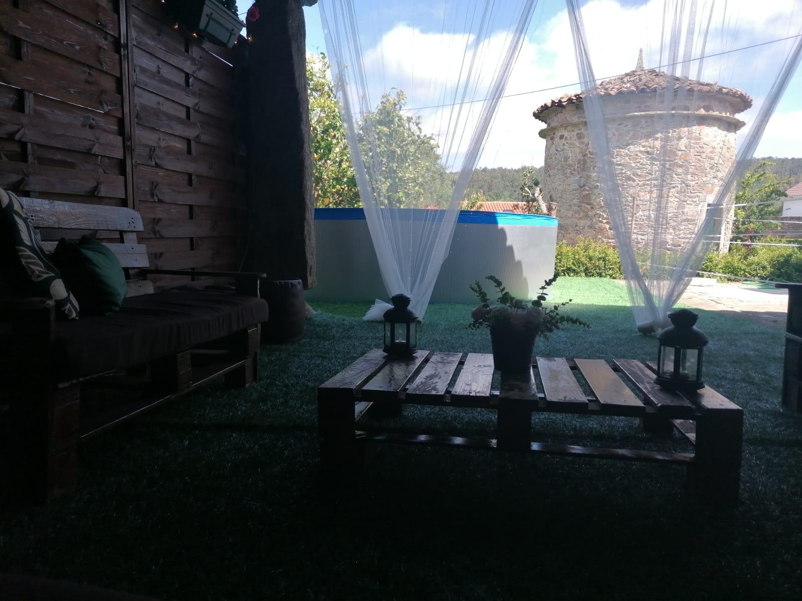 sala exterior pallets