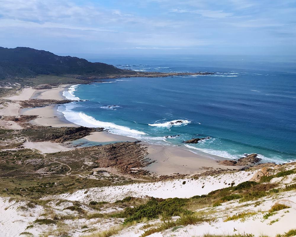 playas en 11 km de senderismo desde la casa