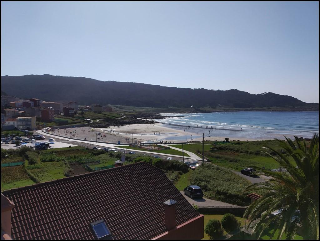 Arou y su playa