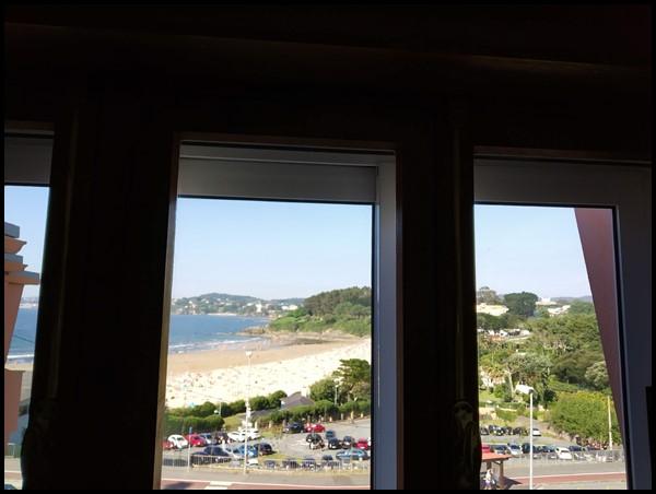Vistas al mar y doble ventana muy silenciosa