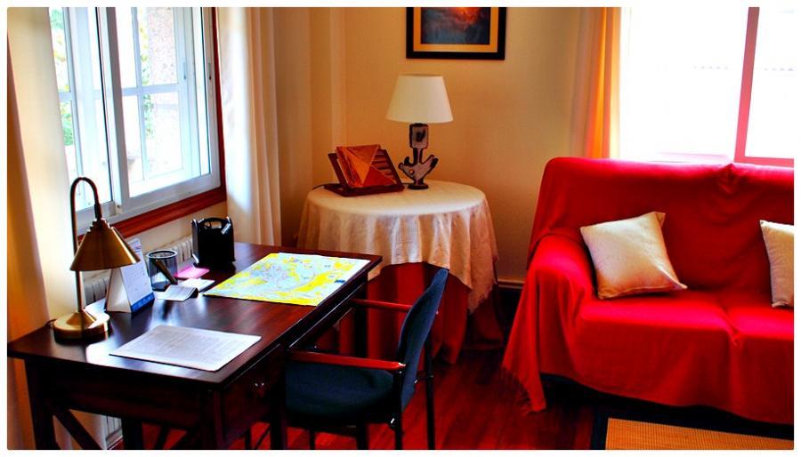 Sala de estar. ejemplo de Rutas de Visitas