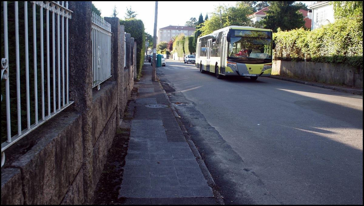 Parada de bus exlusiva para la casa