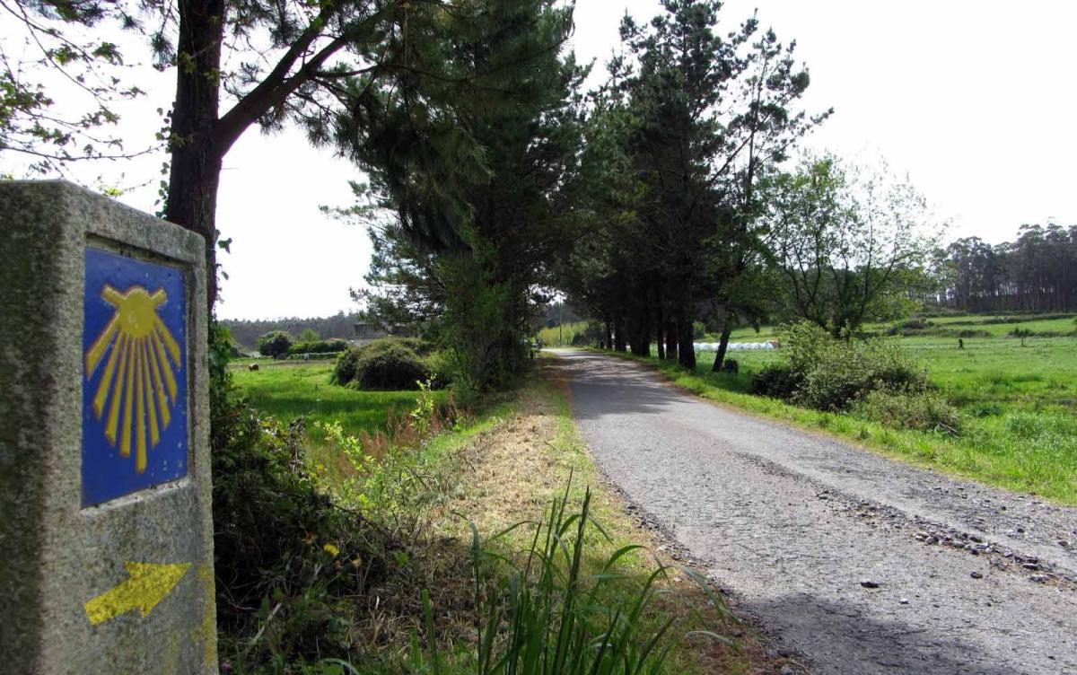 Paso del Camino de Santiago