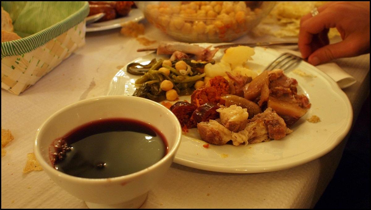 Comida típica Gallega