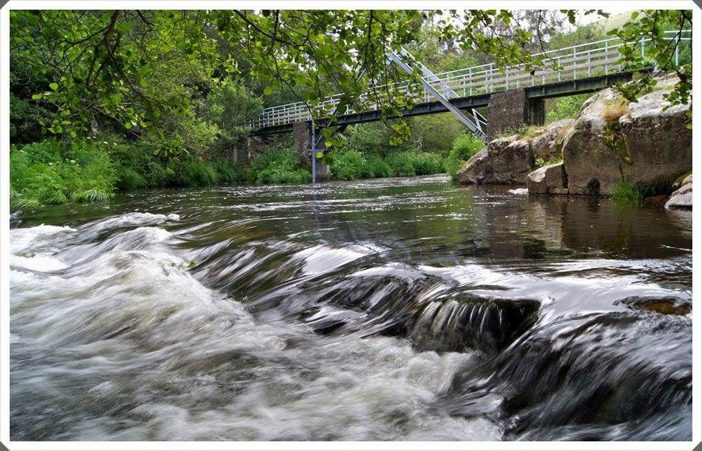 Ruta de los Molinos por el río Grande.