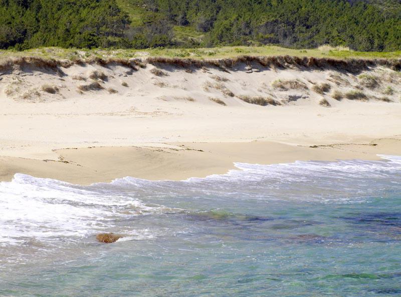 Playa de Trece muy próxima