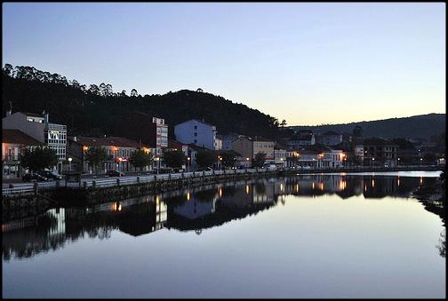 Vistas del pueblo de Ponte do Porto