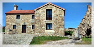 foto fachada casa rural en viseo tourin