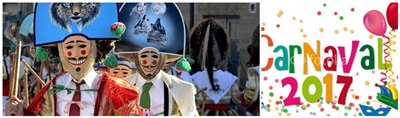 Fiestas de Carnaval en Galicia 2017