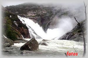 Cascada del Ezaro - Mirador