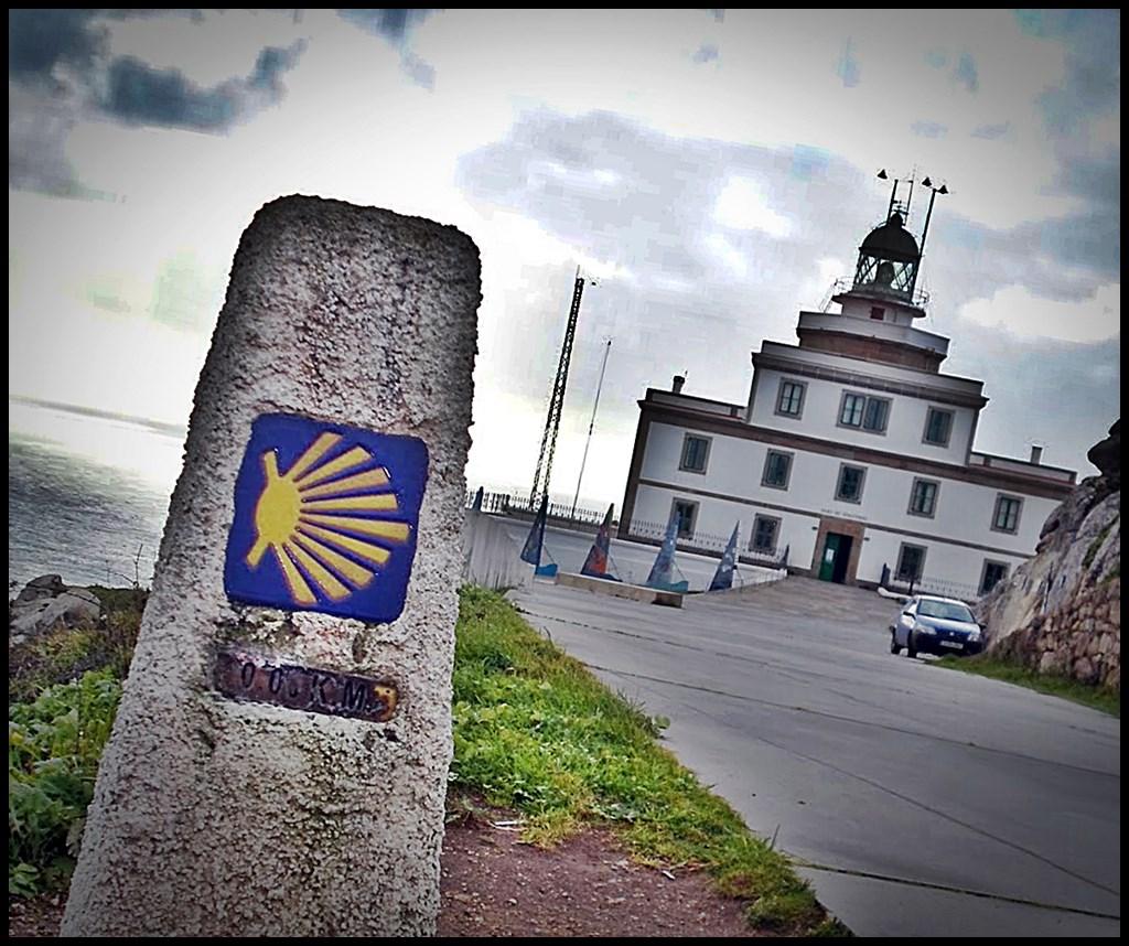 Faro Finisterre. Km 0